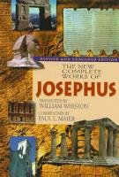 The New Complete Works of Josephus PDF