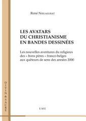 Les avatars du christianisme en bandes dessinées: Essai