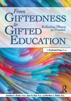 From Giftedness to Gifted Education PDF