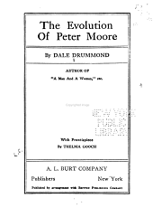 The Evolution of Peter Moore