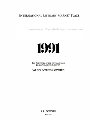 International Literary Market Place PDF