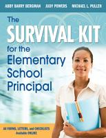 The Survival Kit for the Elementary School Principal PDF