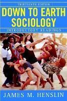 Down to Earth Sociology PDF