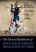 The Oxford Handbook of Refugee and Forced Migration Studies PDF