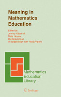 Meaning in Mathematics Education PDF