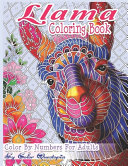 Llama Coloring Book Color By Numbers For Adults Book PDF