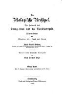 Der Malayische Archipel PDF