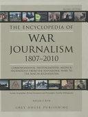 The Encyclopedia of War Journalism  1807 2010 PDF