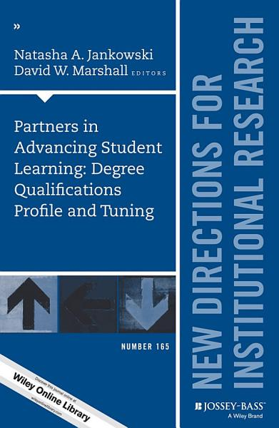 Partners in Advancing Student Learning  Degree Qualifications Profile and Tuning PDF