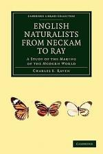 English Naturalists from Neckam to Ray