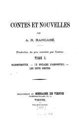 Contes et nouvelles: Volume 1