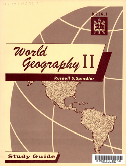 World Geography II PDF