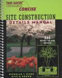 Time Saver Standards Site Construction Details Manual PDF
