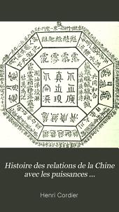 Histoire des relations de la Chine avec les puissances occidentales: L'empereur Tʻoung Tché (1861-1875)