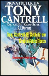 Tony Cantrell 19: Such dir ein Grab in Addis Abeba: Cassiopeiapress Thriller Spannung