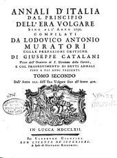 Annali d'Italia: dal principio dell'era volgare sino all'anno 1750, Volume 2