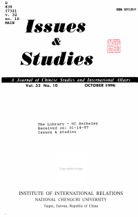 Issues   Studies PDF