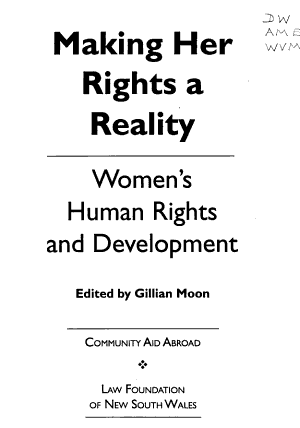 Making Her Rights a Reality PDF
