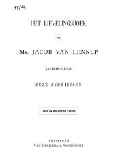 Het lievelingsboek van Mr. Jacob van Lennep