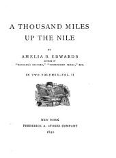 A Thousand Miles Up the Nile: Volume 2