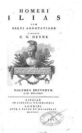 Homeri Carmina, cum brevi annotatione. Accedunt variae lectiones et observationes veterum grammaticorum cum nostrae aetatis critica, curante C. G. Heyne
