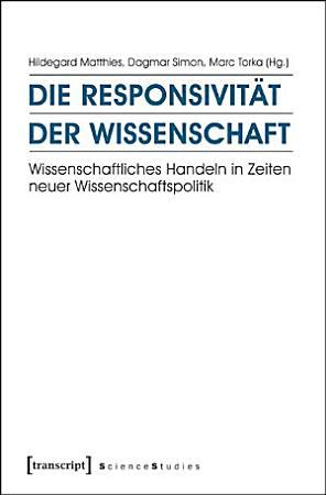 Die Responsivit  t der Wissenschaft PDF