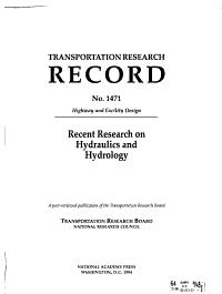 Transportation Research Record PDF