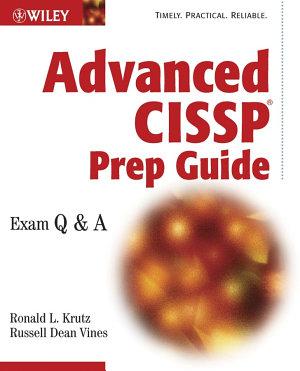 Advanced CISSP Prep Guide PDF