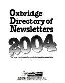 Oxbridge Directory of Newsletters PDF