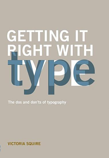 Getting it Right with Type PDF
