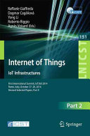Internet of Things  IoT Infrastructures