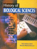 History of Biological Science PDF
