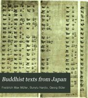 Buddhist Texts from Japan PDF