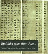 Buddhist Texts from Japan: Volume 3