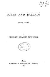 Poems and Ballads: Volume 3