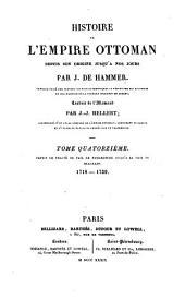 Histoire de l'Empire ottoman, depuis son origine jusqu'à nos jours: Volume14