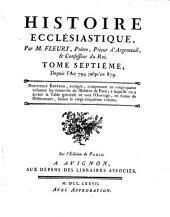 Histoire ecclésiastique: Volume7