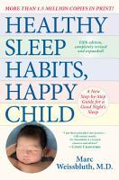 Healthy Sleep Habits  Happy Child  5th Edition PDF