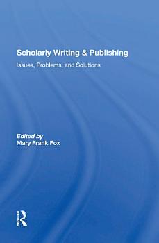 Scholarly Writing And Publishing PDF