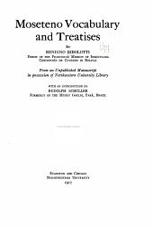 Moseteno Vocabulary and Treatises