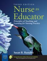 Nurse as Educator PDF