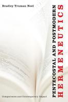 Pentecostal and Postmodern Hermeneutics PDF