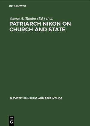 Patriarch Nikon on Church and State