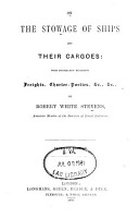 On the Stowage of Ships and Their Cargoes PDF
