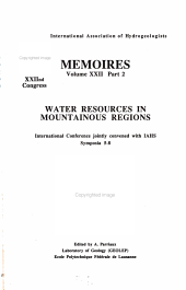 Water Resources in Mountainous Regions