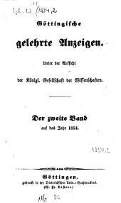 Göttingische gelehrte Anzeigen: unter Aufsicht d. Akademie der Wissenschaften, Band 116
