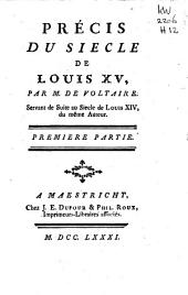 Précis du siecle de Louis XV,: Partie2