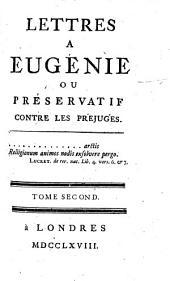 Lettres a Eugene