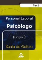 Psicologo de la Xunta de Galicia  Test Ebook PDF