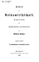 National  konomik des Ackerbaues und der verwandten Urproductionen PDF